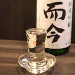 地酒と料理 高田馬場研究所 - 而今 純米吟醸 山田錦 無濾過生