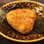 地酒と料理 高田馬場研究所 - 穴子めしの焼きおにぎり