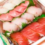 江戸前廻転寿司 森の石松 - 料理写真: