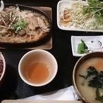 49447359 - 牛カルビ焼定食