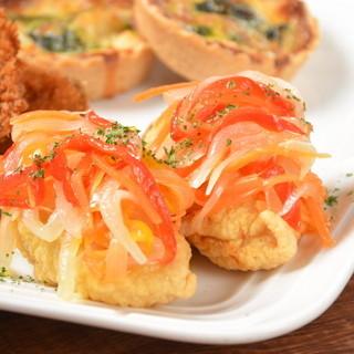 ●豊富な種類の牡蠣や様々な牡蠣の調理法で飽きさせません♪