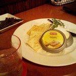 WALL STREET - デンマーク産のクリームチーズとクラッカー。