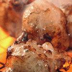 中目黒のむら - 初体験の塩ホルモンです。