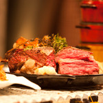 ハナドラ - 飛騨牛ローストビーフ