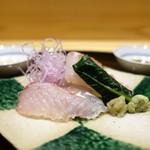 米倉 - 九州、石鯛、ヒラスズキ  煎り酒、醤油