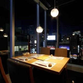 大事なご接待や会食、お祝いにも最適な個室を完備。