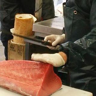 小浜港直送の新鮮な魚をご提供