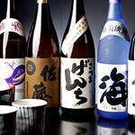 かわ乃 - こだわり焼酎