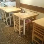 釜ひろ - テーブル席のみ
