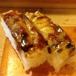 寿司常 - お昼の特別メニューの穴子押し寿司