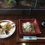 蕎麦食処 六根亭 - 天ざる蕎麦