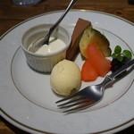 イタリアンキッチン 伊太めし屋 - ケーキ・フルーツ・アイス