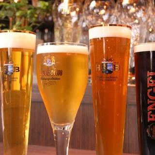 ドイツ人オーナーの酒場オープン時直輸の生ビールを特価