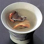 ふくの河久 - とらふぐひれ酒(500円)
