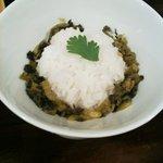加哩激場麺 - '10・05・24 食後のライス