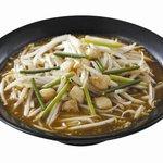麺屋ここいち - 料理写真:にんにくたっぷりスタミナ全開!!【旨辛DS(どえりゃ~スタミナ) 850円】