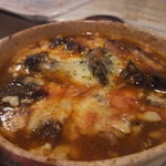 シルバースプーン - 牛ほほ肉の白ビール煮 チーズ焼