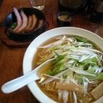 49460673 - 鯛だし・ほっぺた焼き豚麺(醤油)那須の白美人ねぎ入り
