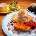 にじいろカフェ - ランチ・スィーツパンケーキセット・ドリンク付
