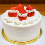 にじいろカフェ - デコレーションケーキ