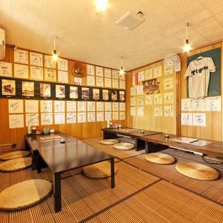 プロ野球選手ご用達の個室