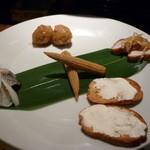 日本酒とお魚きっちん 祐星 - ☆お付き出しはこちら(#^.^#)☆