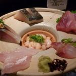 日本酒とお魚きっちん 祐星 - ☆【祐星】さん…お造りの盛り合わせ(≧▽≦)/~♡☆