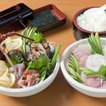 魚処 苫屋 - 料理写真:伊勢海老の  つくり   2人前