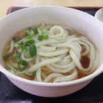 田村屋 - 料理写真:うどん(*´д`*)100円