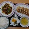 餃子の王将 - 料理写真:焼肉セット(815円)