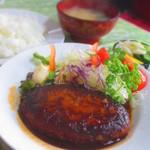 Hokushinkenshiyokudou - ハンバーグライス  700円