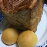 ベーカリーゴアール - デニッシュ食パン ハーフサイズ350円