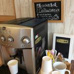 ベーカリーゴアール - コーヒーサービスコーナー