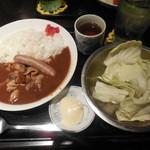Ton - ジャーマンもつカレー¥790→¥500-