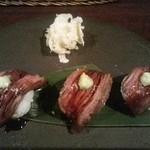 ボイス - ハラミ肉寿司