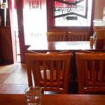 平和軒 - テーブル席