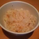 麺匠 清兵衛 - 帆立炊き込みご飯