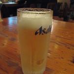 お好み村 - 生ビール