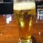 カプリチョーザ - 生ビール。