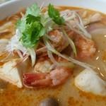 49483028 - スープに海老の出汁がしっかりと染みこんでいて美味しい