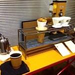 ザクリームオブザクロップコーヒー - ドリンク写真:珈琲を淹れて頂きます。