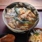 寿限無茶屋 - 昔ながらの味あっさり仕立て、サラダ付