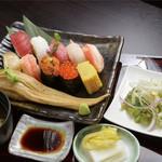 佐渡前握り 鮨寿 - 料理写真: