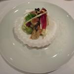 エタンセール カワモト - ホタテ貝のポアレ