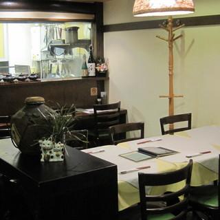 創業1988年。広島で初の創作料理のお店です。