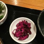 日本料理 竹むら - お漬物
