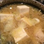日本料理 竹むら - あんこう汁