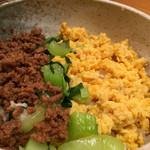 日本料理 竹むら - 三色丼