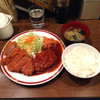 Kicchintaishouken - 料理写真:煮込みハンバーグとヒレカツ