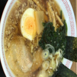 Kuroisopakinguerianoborisenshokudou - 醤油ラーメン 540円